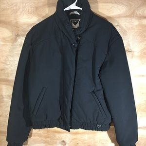 Obermeyer Black zipper jacket SZ 14 zipper pockets